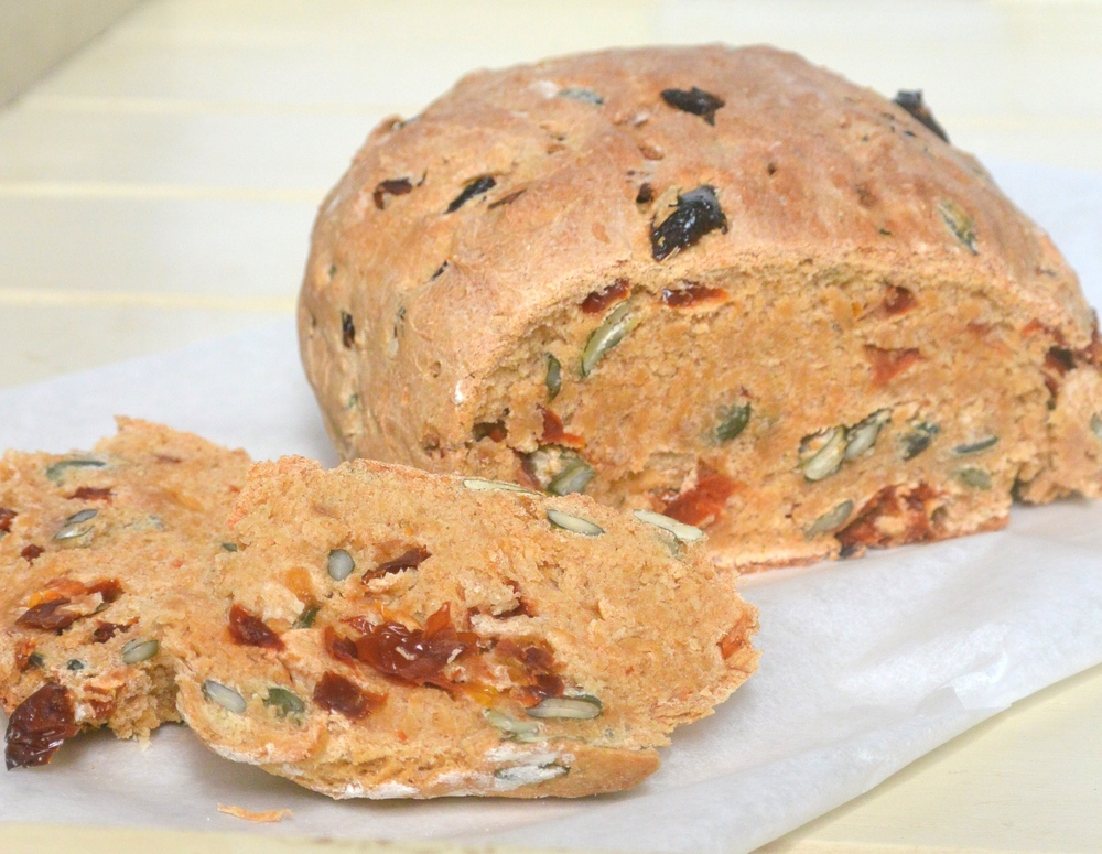 Sundried Tomato, Pumpkin Seed and Spelt Loaf