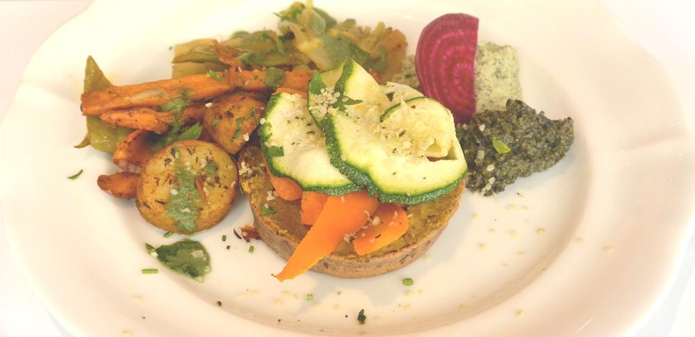 Gluten-Free Tart at Pousse Pousse