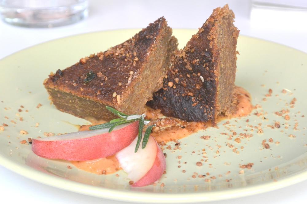 Vegan Orange Cake at Pousse Pousse