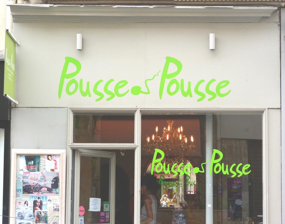 Pousse Pousse Vegan Restaurant in Paris