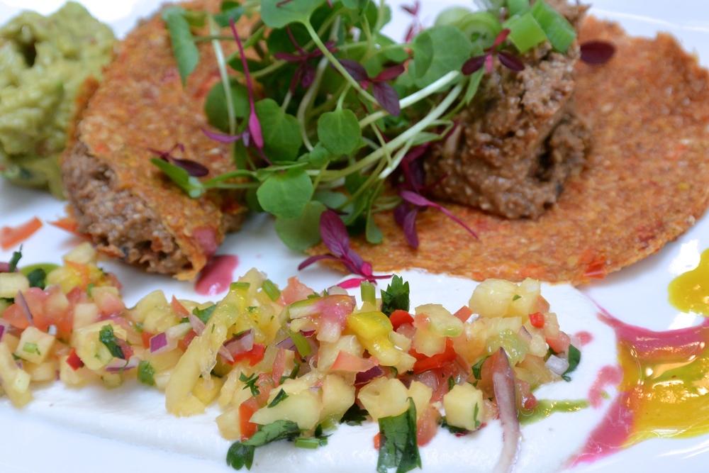 Raw Tacos at Tanya's