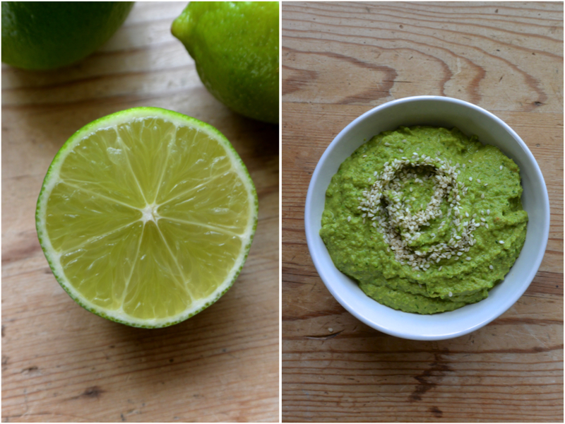 Asian Pea Hummus | The Herb Diaries