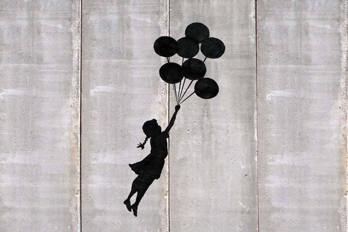 Banksy's Balloon Girl, 2003.