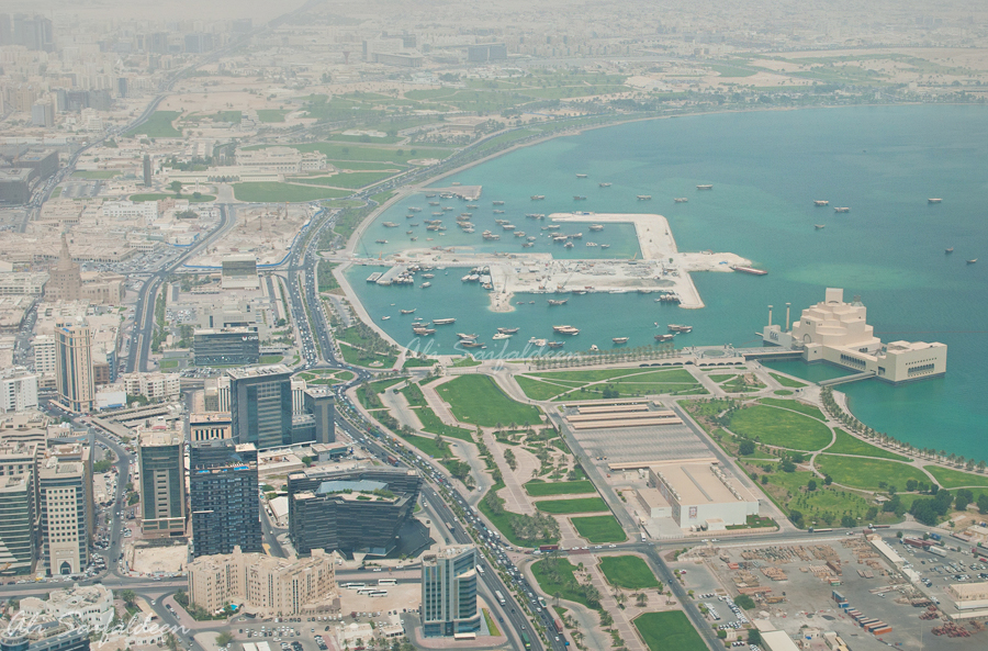 The already hot and humid conditions in Qatar
