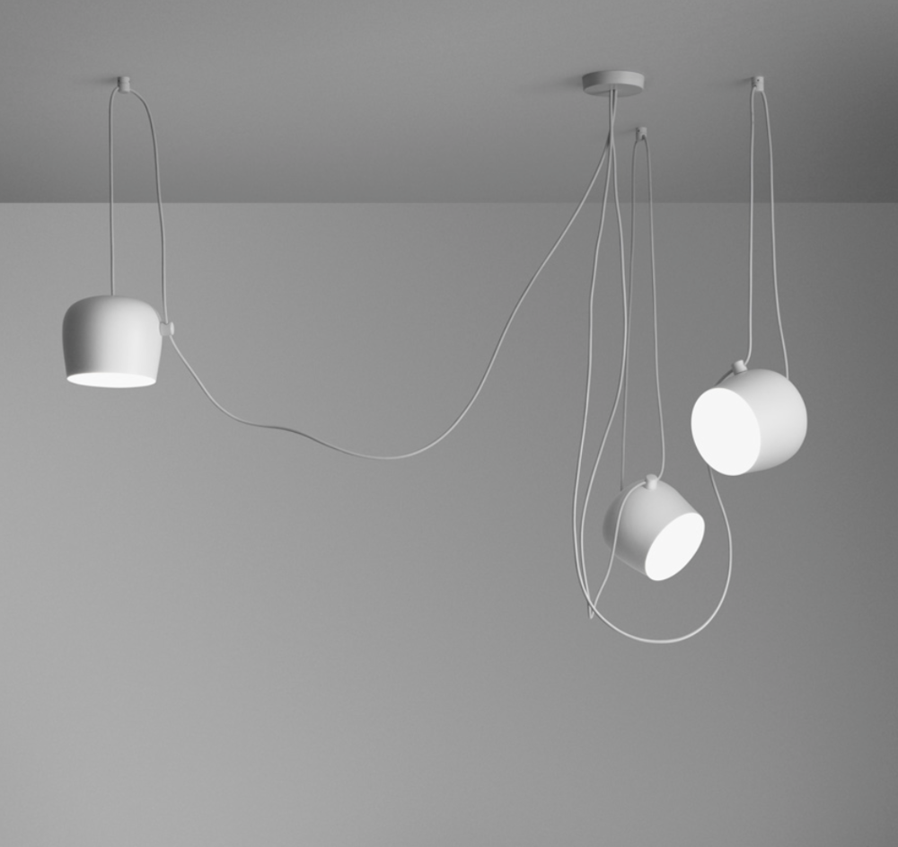 Aim Small Pendant Light by Ronan & Erwan Bouroullec