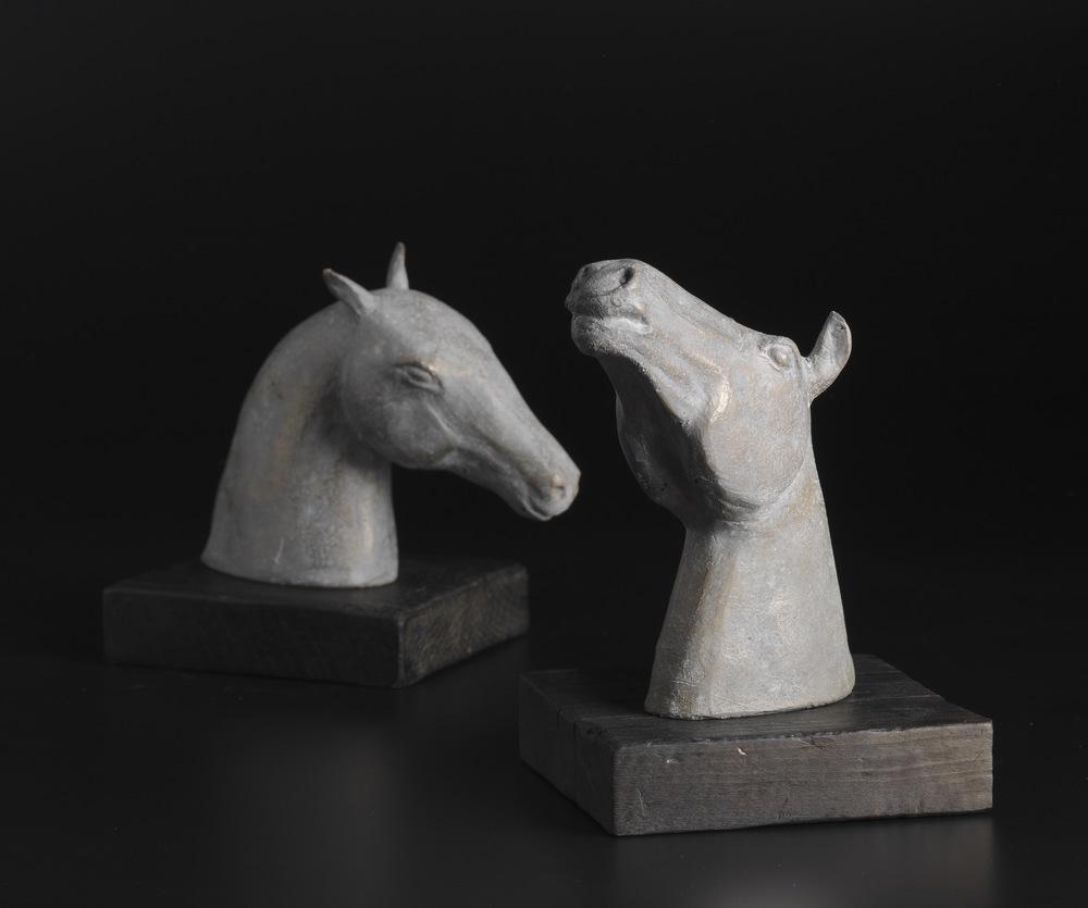 Bronze Horse Heads