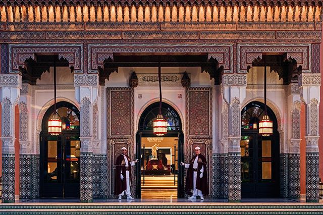 LA MAMOUNIA recognized as the #1 HOTEL IN THE WORLD #1 HOTEL IN AFRICA 🏆 with Condé Nast Traveler's 2018 readers' choice award #congratulations #proud #lamamounia #condenasttravaler #readers #award #sophiecarreepr