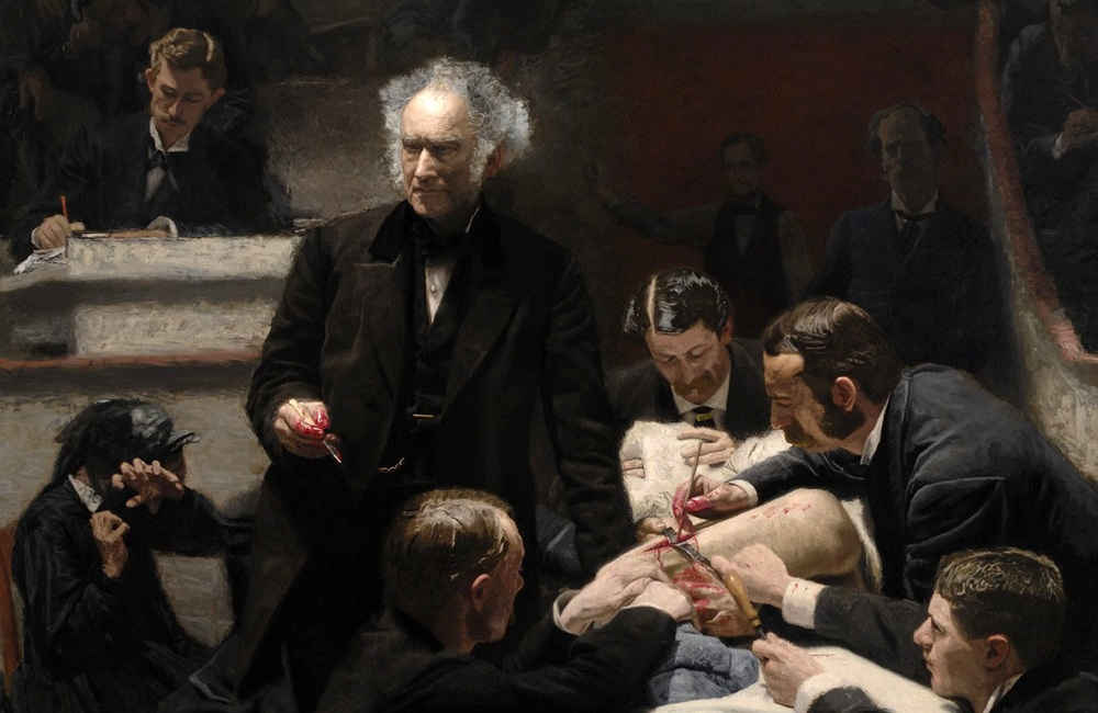 The Gross Clinic  by Thomas Copperthwaite Eakins