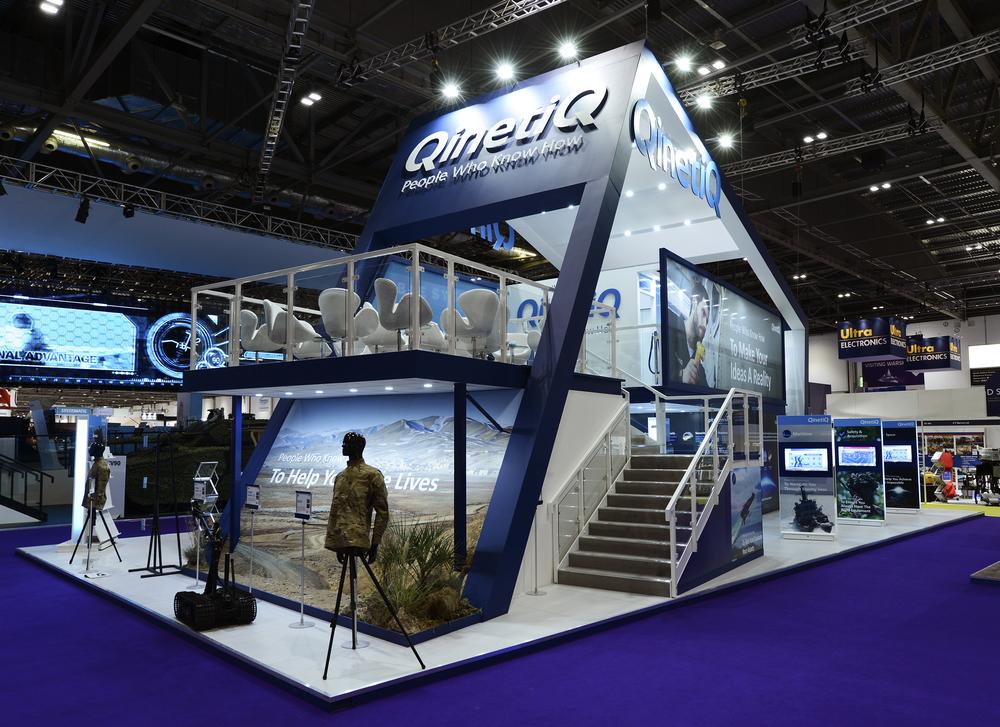 Exhibition Stand Double Decker : Qinetiq u2014 jamjar design