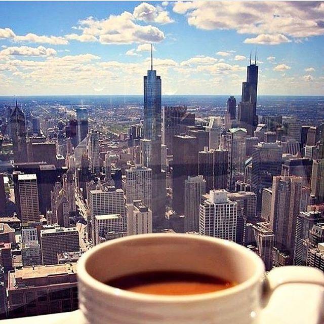 Sunday coffee view. ☕️