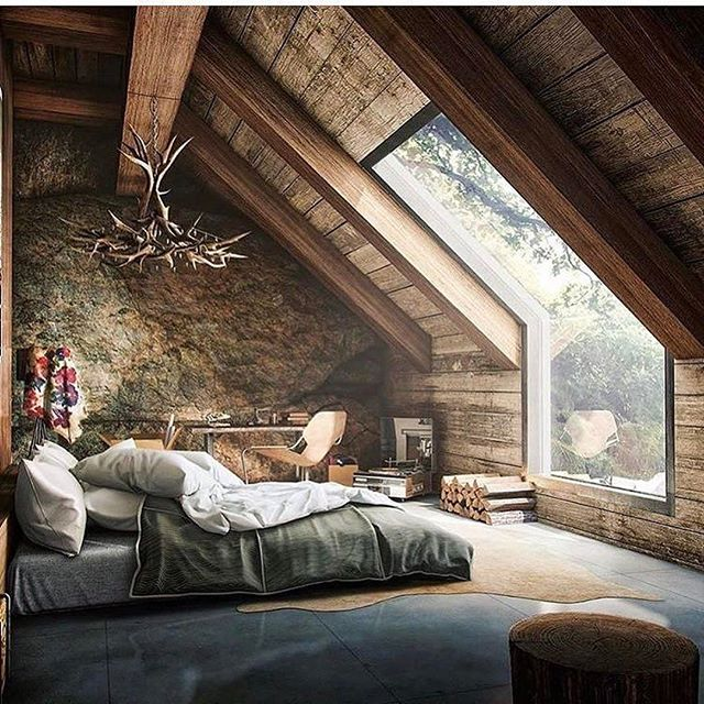 If you're a fan of rustic design, you'll probably appreciate this!