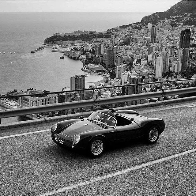 Driving above Monaco. ⭐ credit @tomclaeren.