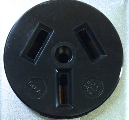 3-prong 50 amp outlet