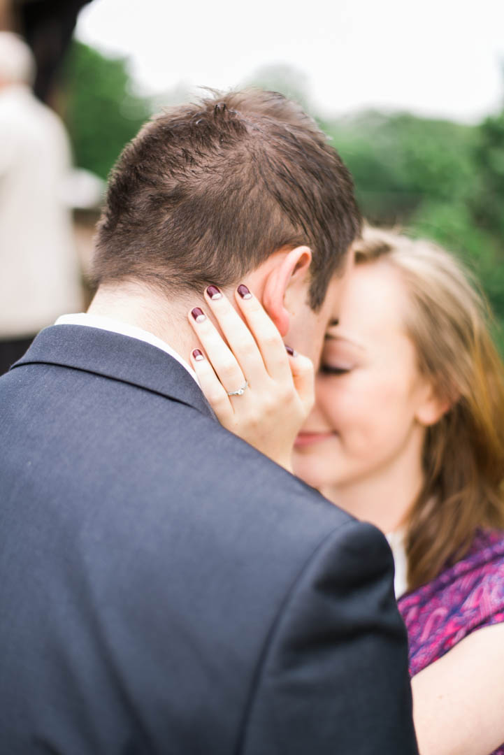 A Young Couple Embrace at Inglewood Manor