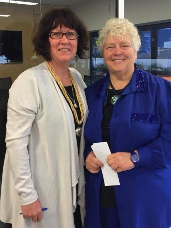 Diane Tasker with Paddi Creevey OAM