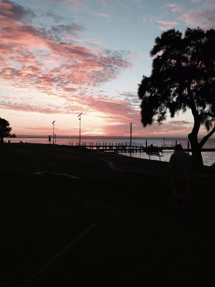 Paul Shellback kindly sent this photo to Everything Mandurah. It was taken at the Novara Foreshore.