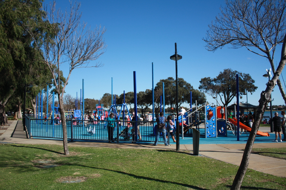 Eastern Foreshore playground.