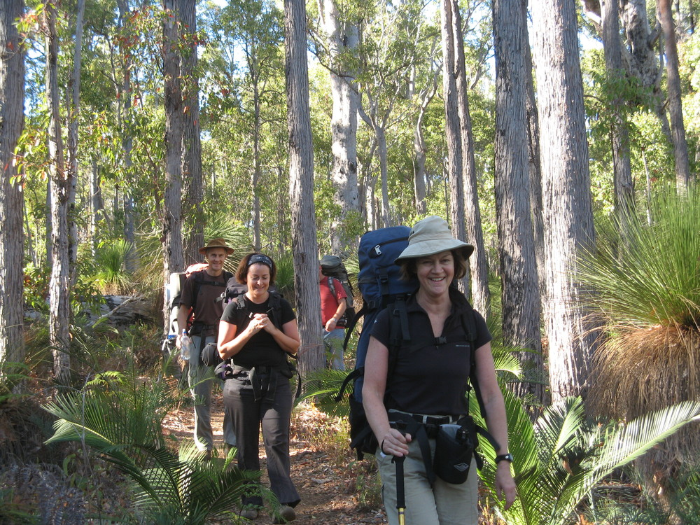 Walkers near Dwellingup