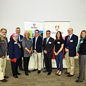 Investigators and funders from the Peel region at the recent Peel Awards