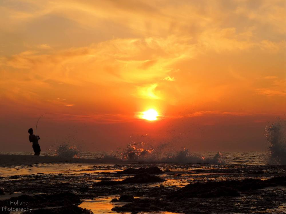 fishing sunset mandurah