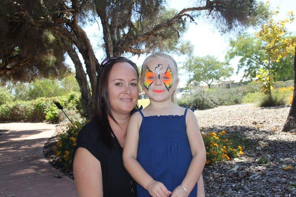 Belinda Keillor with Milla Gyoergy