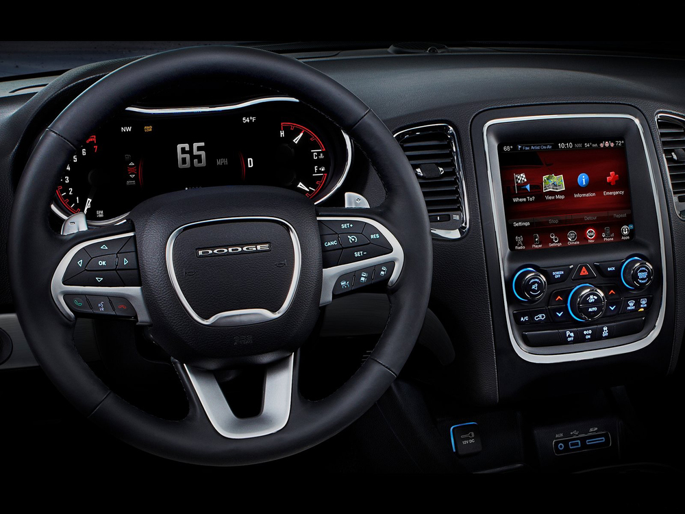 2013 Dodge Durango gauge design