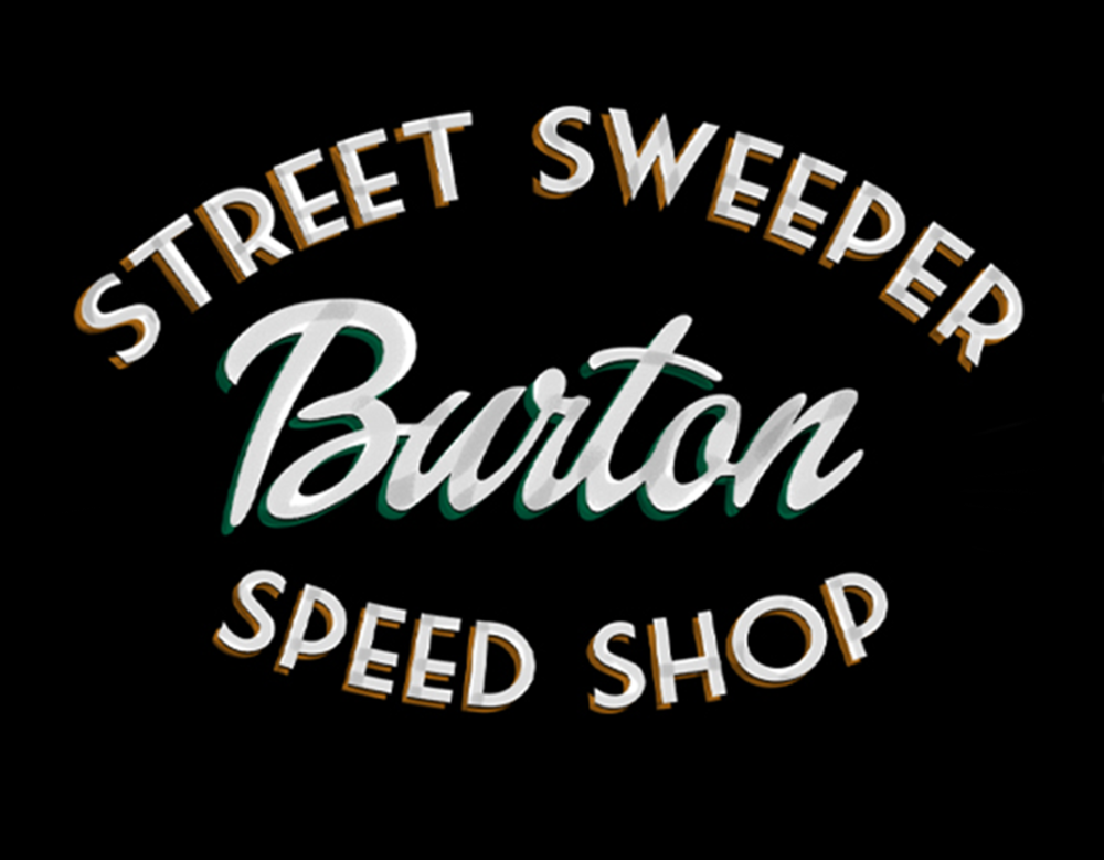 Burton Street Sweeper snowboard design detail
