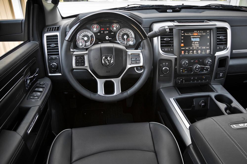 2013 Ram Limited interior