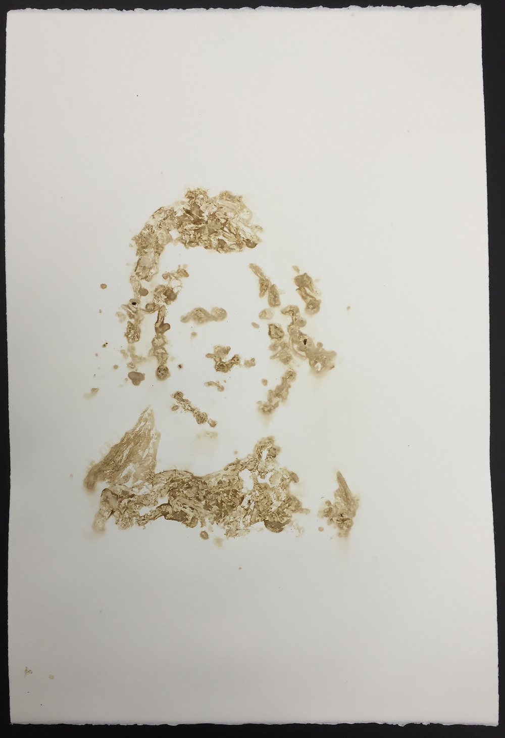 Tobacco print  15x22