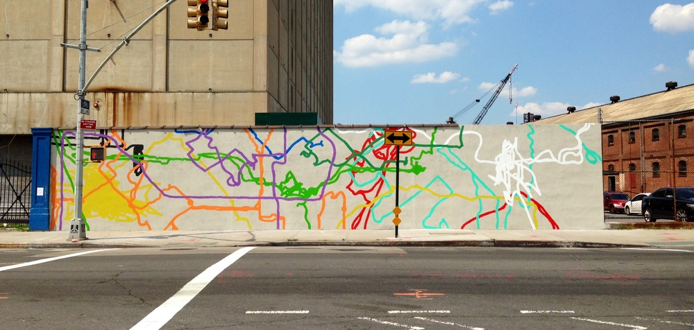 The Wall on Vanderbilt and Flushing Avenue in Brooklyn, NY
