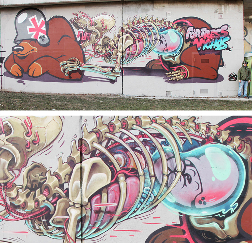 Nychos & Flying Förtress (Vienna 2012)