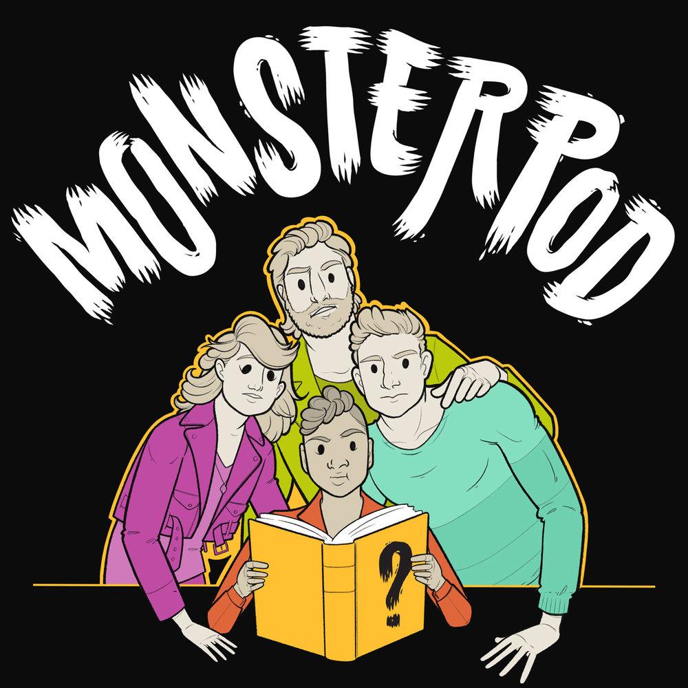 Cover art for the Monster Pod podcast