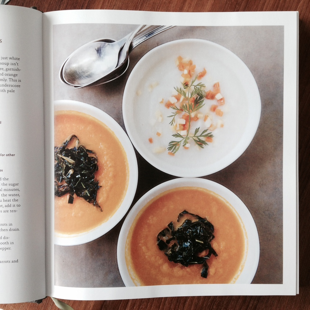 vegetable literacy carrot soup