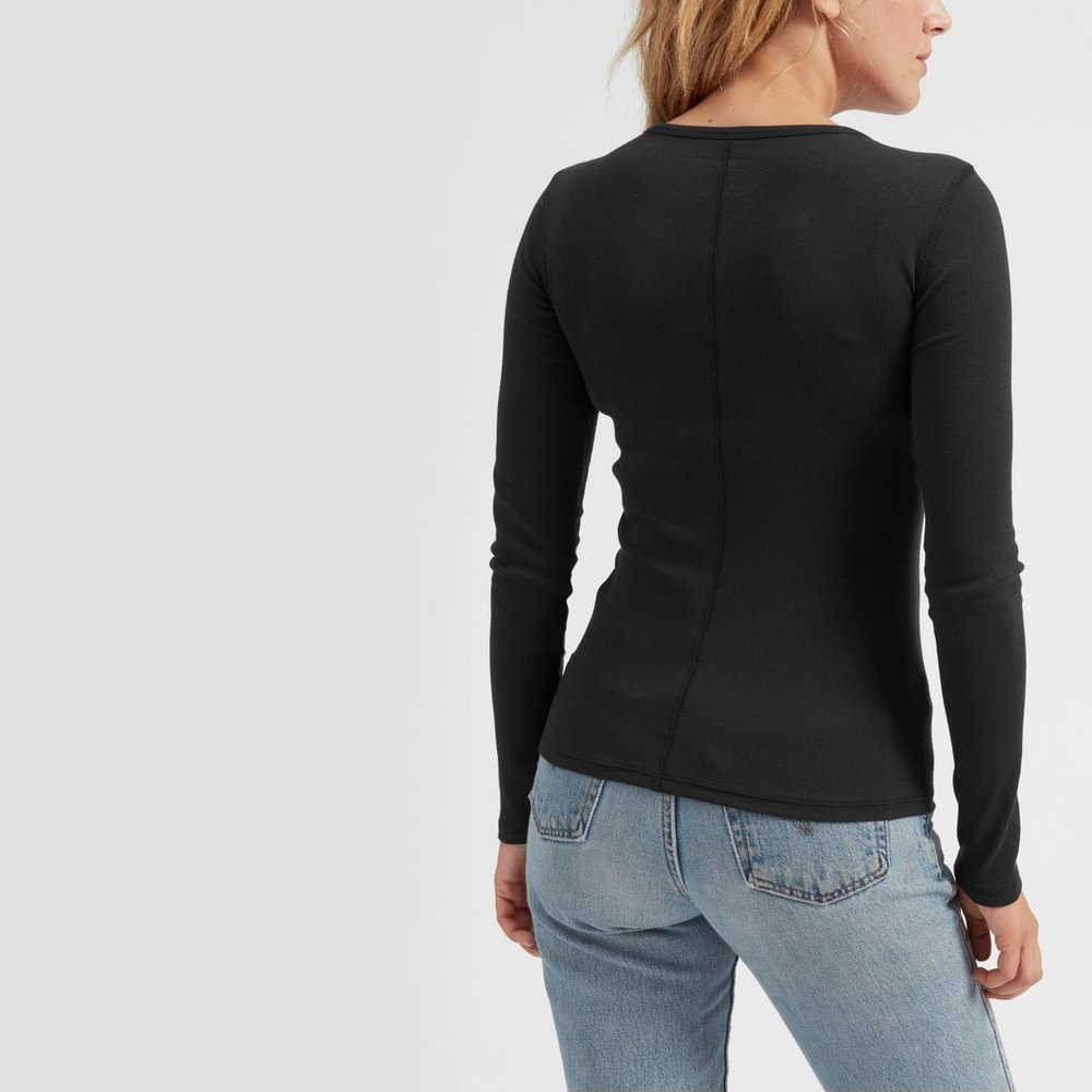 Everlane Mirco Rib long sleeve.jpg