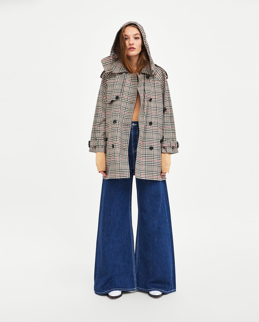zara plaid trench.jpg