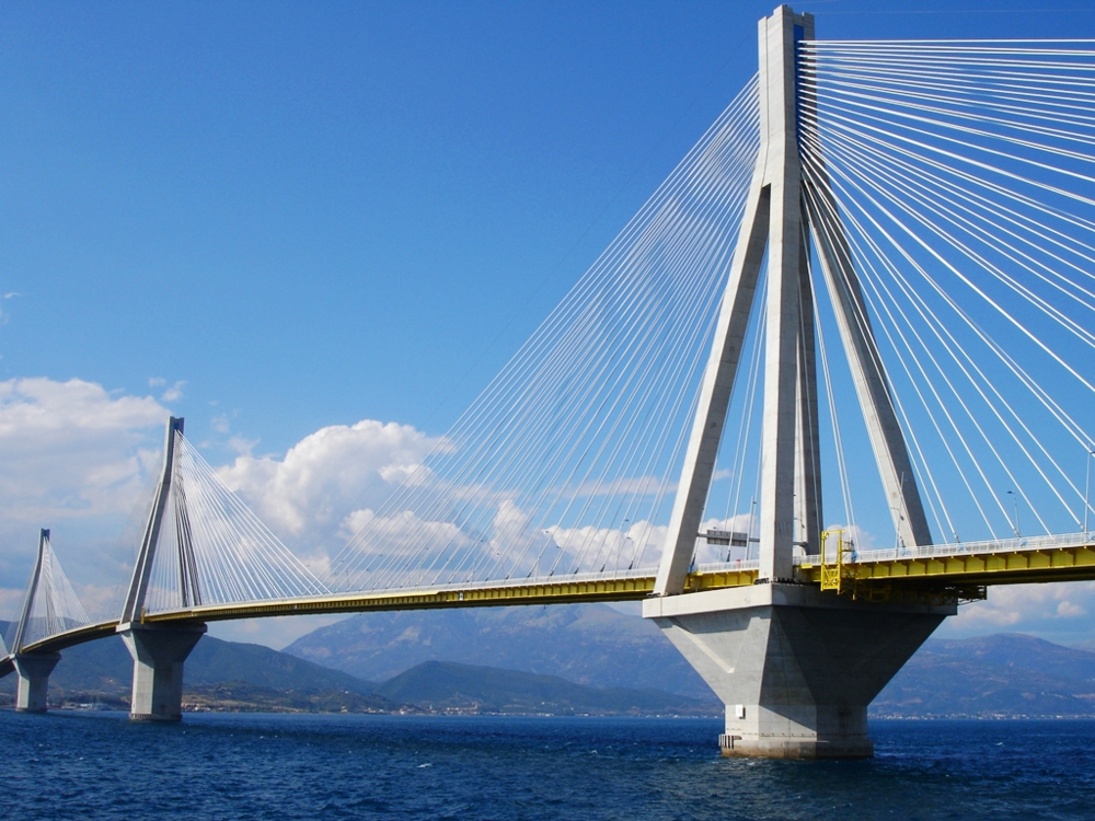 Rio–Antirrio bridge  - The Way from Athens