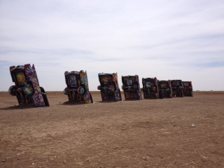 Cadillac Ranch, TX- from one of the craziest projects I've ever been a part of. Details soon...