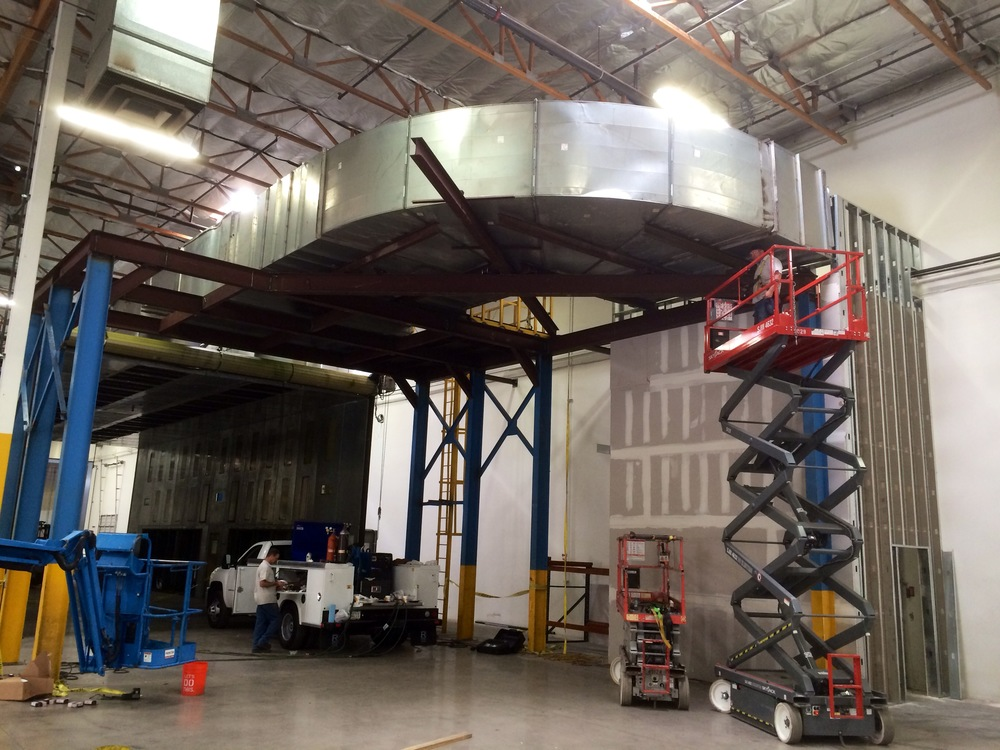 Custom metal fabrication    Duct work installation of all sizes and materials