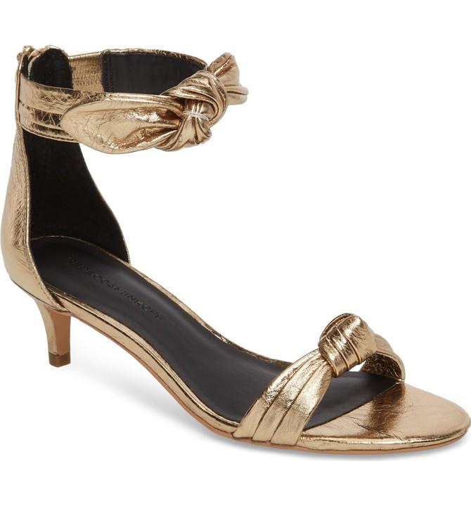 Rebecca Minkoff KALEY - Sandals - gold CJpyyrbQh