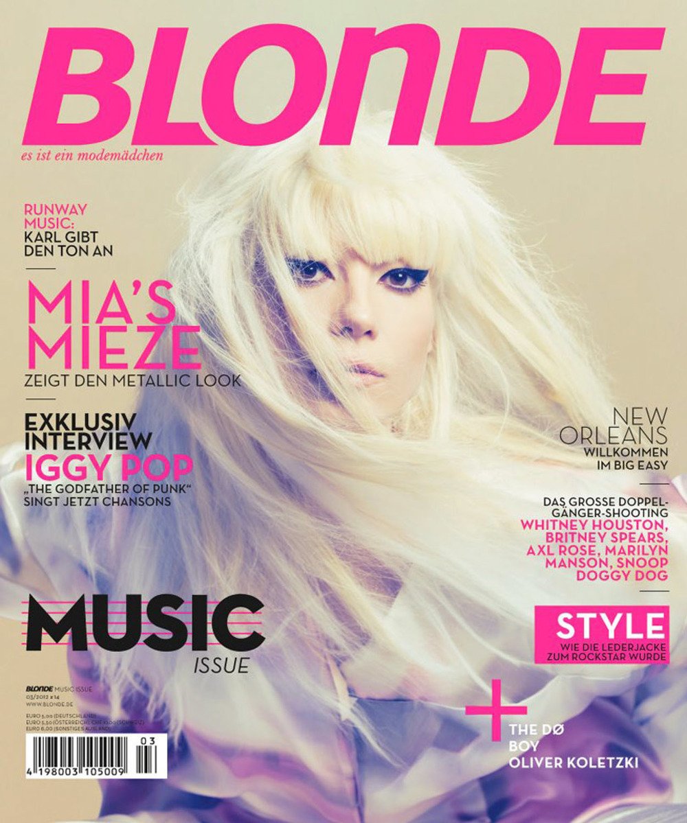 Client: Blonde Magazine Photographer:  Marco Trunz
