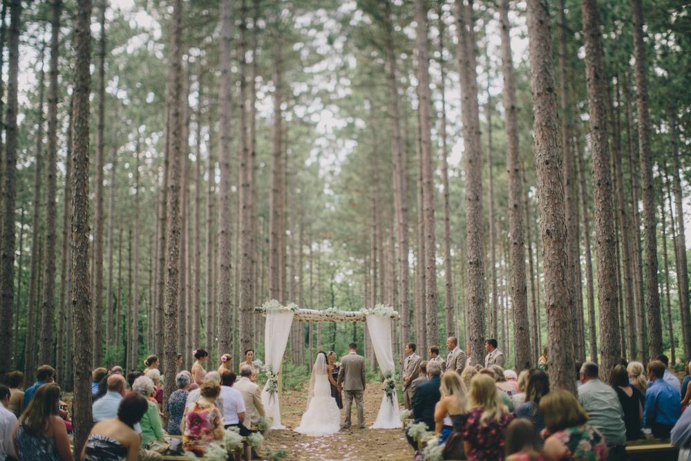 Jared + Amie - A Black River Falls WI Wedding