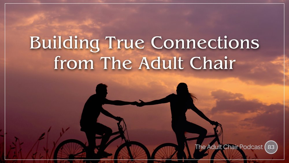 Listen to Michelle Chalfant on The Adult Chair Podcast Episode 83