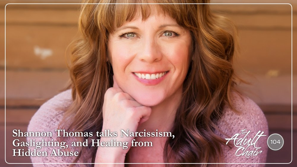 Listen to Shannon Thomas on The Adult Chair Podcast