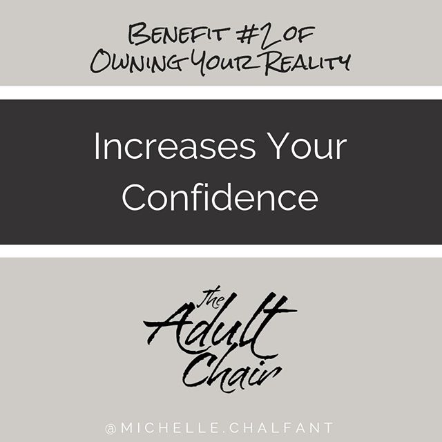 We become less afraid of life because we are more solid within ourselves. It fills us up energetically inside in our adult chair. .  Learn how to own your reality in my latest podcast episode, and discover the 4 benefits for owning your reality. . Link in the bio. . #theadultchair #ownyourreality . . . . . . . . . #nashville #nashvilletherapist #nashvillebusiness #presentmoment #selfhelppodcast #consciousness #positivity  #positivelife #innerchild #innerchildwork #lawofattraction #selflove #selfhelp #codependency #anxiety #wellness #authenticity #authentic #livingauthentically #emotions #presence #journaling #mindfulness #mindful  #boundaries #triggers #healing #transformation