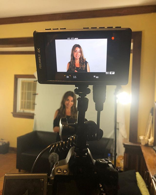 Day one of videos done ✅ for the Adult Chair membership site. 👍🏼 . Looking forward to tomorrow. Having so much fun and can't wait to share! 🎥 . . #theadultchair  #membership  #transformation  #selflove #sanjuan #puertorico
