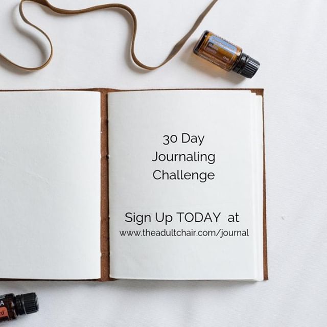 My 30 Day Journaling Challenge is back! .  Ready to transform??!! Then join us for 30 days of journaling! .  Journaling is a fantastic way to go deeper within yourself to gain new perspectives, release old patterns, stuck emotions and help you to live more authentically. .  How this challenge works: You will receive a daily journaling prompt in your inbox starting November 1st. .  Sign up for this FREE Life Changing 30 Days of Journaling at www.theadultchair.com/journal or link in the bio .  #theadultchair #journaling #journal #journalingchallenge #30daysofjournaling . . . . . . . . . . #presentmoment #consciousness #positivity  #positivevibes #positivelife #innerchild #innerchildwork #selflove #selfhelp #codependency #anxiety #wellness #authenticity #authentic #livingauthentically #meditation #emotions #presence #mindfulness #mindful  #boundaries #triggers #healing #transformation