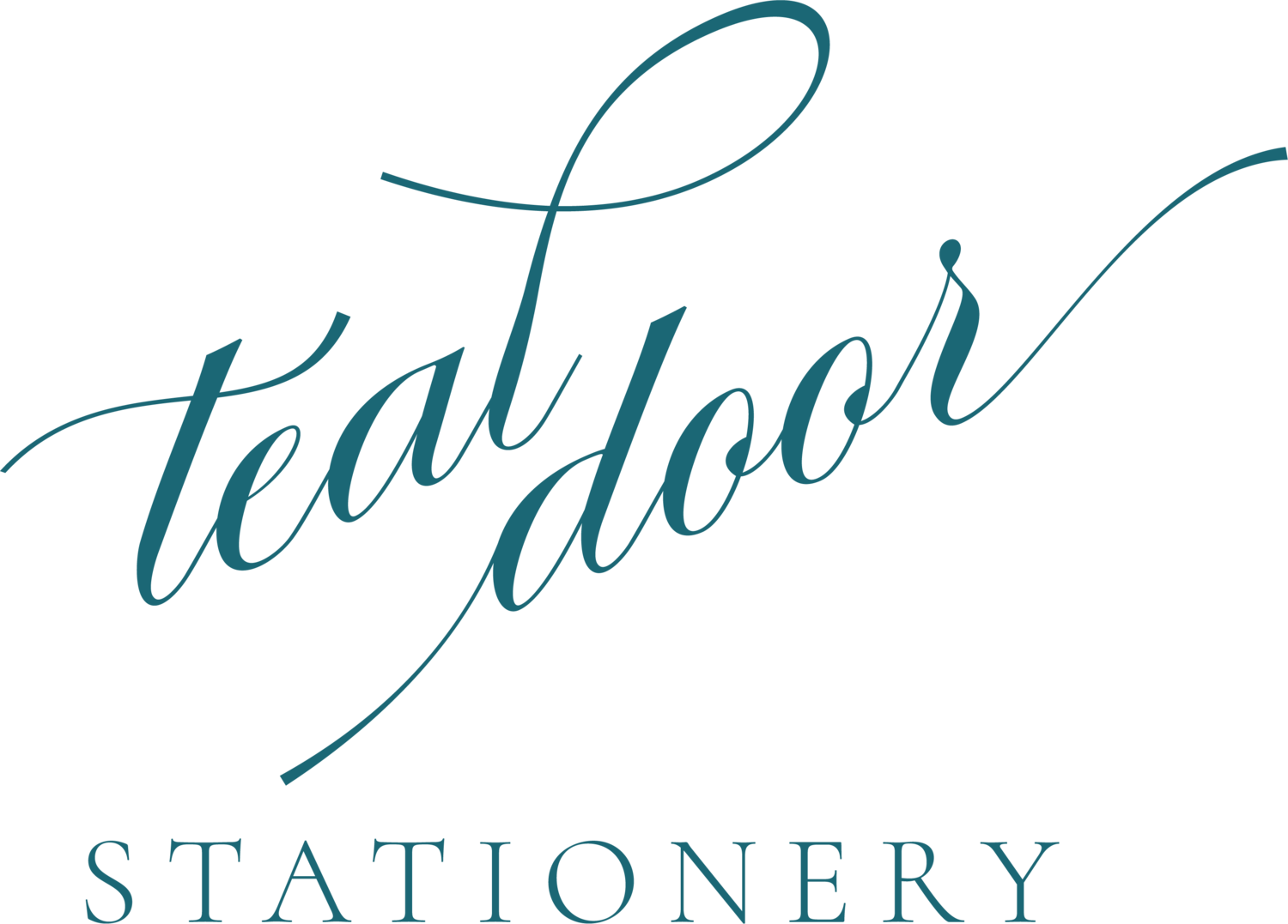 TEAL DOOR STATIONERY