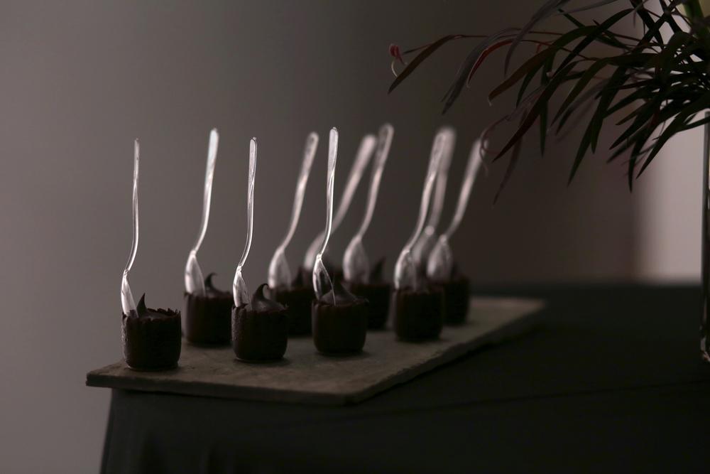 Chocolate Ganache Thimbels