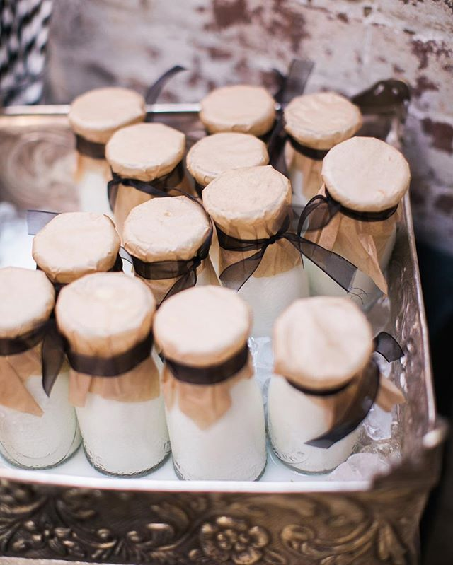Here's some Monday event inspiration for you!  If you have a dessert/petite sweet display at your event, give your guests mini vintage milk bottles to pair!  Photo:  @adventurewedphotogs  #eventinspiration #inspiration #dessert #wedding #events #weddings #weddingcatering #catering #nashville #nashvillecatering #sweets #eventplanning #corporate #business #nashvillecorporate #lifestyle #weddingphotography #details #vintage #crafty