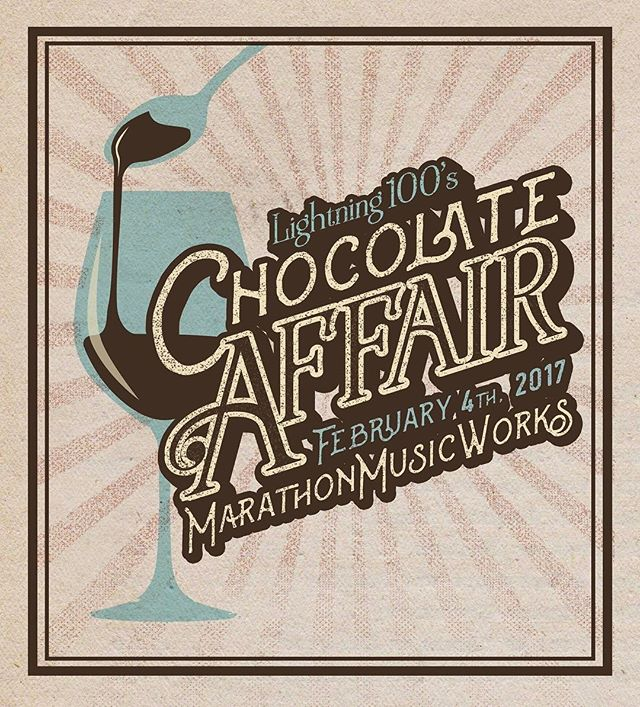 Hurry up and get your tickets to @Lightning 100's Chocolate Affair at @MMusicWorks tomorrow, Feb 4th. Make sure to stop by our booth for some (sweet or savory or delicious) treats! #L100Chocolate Link in bio!
